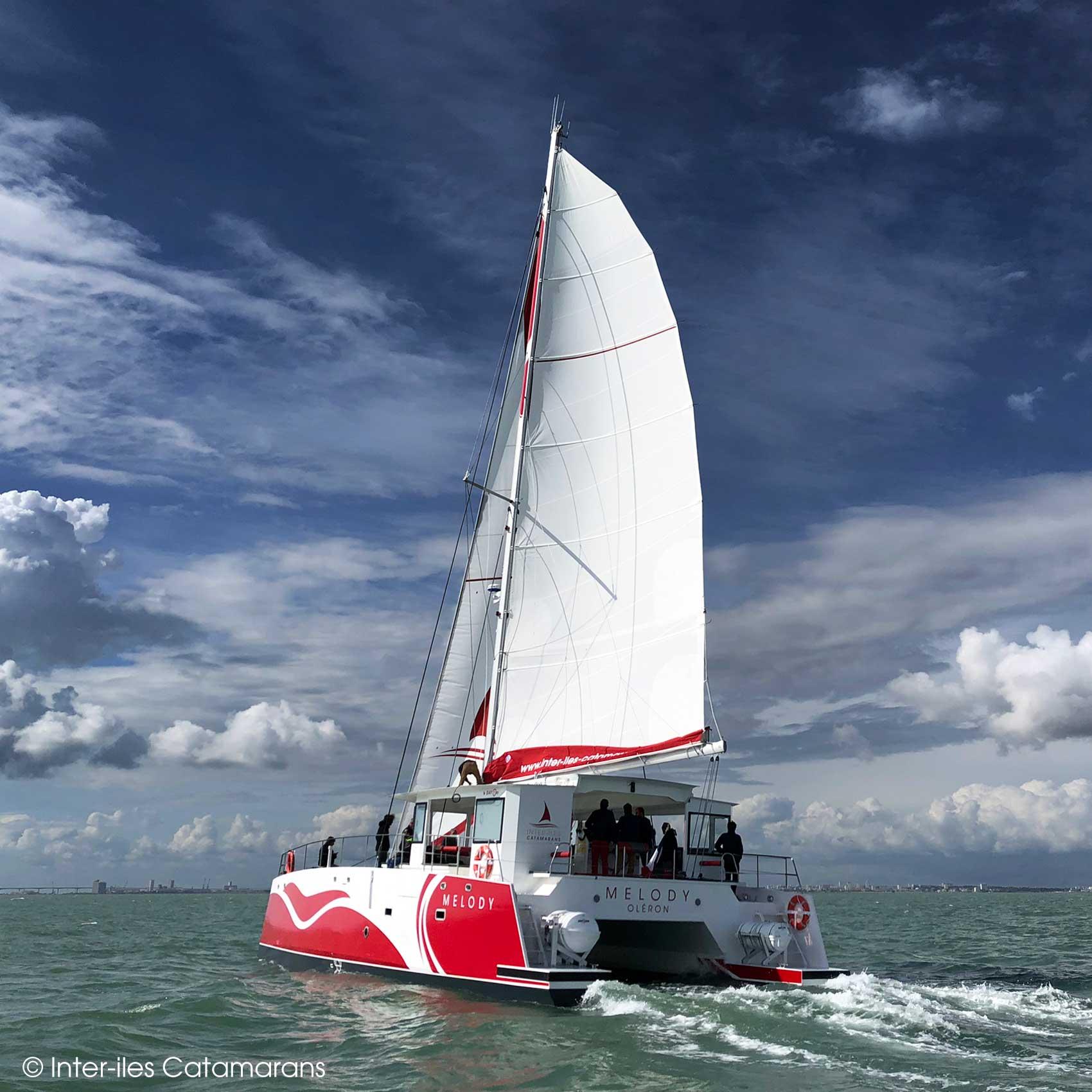 Catamaran Melody Inter-îles La Rochelle Boyardville