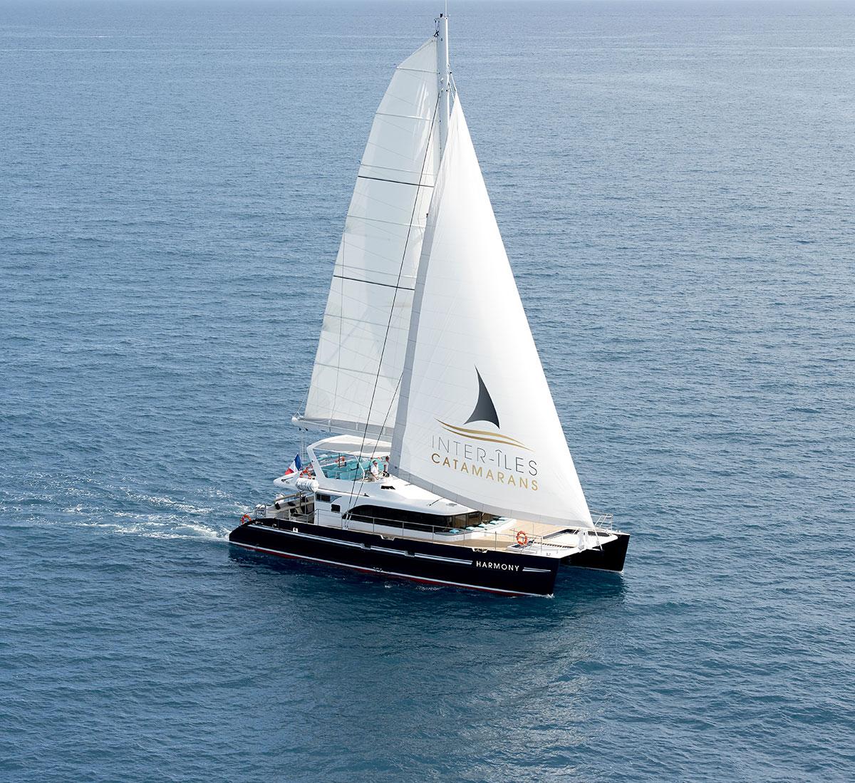 Catamaran Harmony à La Rochelle