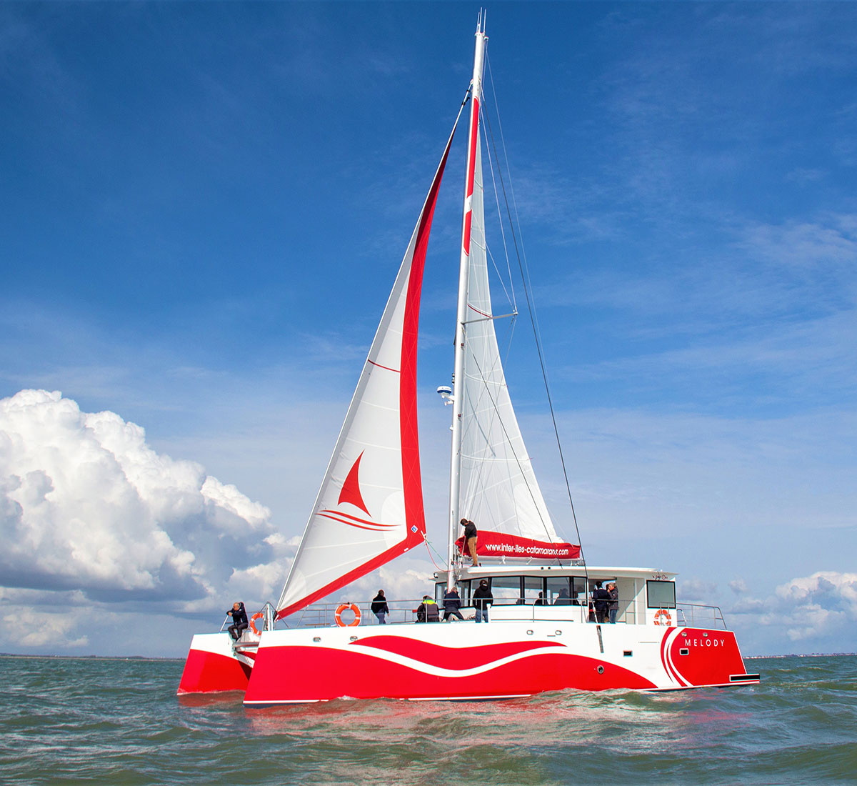 Sortie du Capitaine Inter-îles Catamarans
